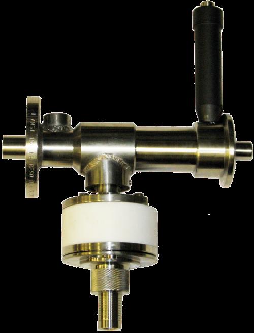 Surface mount chemical sampling valve